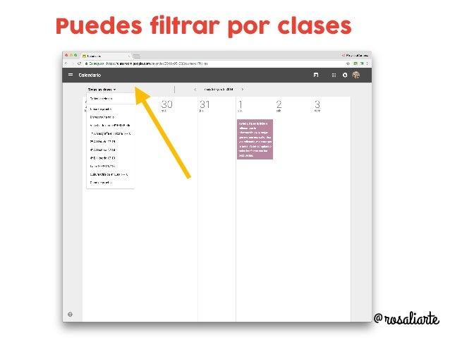 Puedes filtrar por clases @rosaliarte