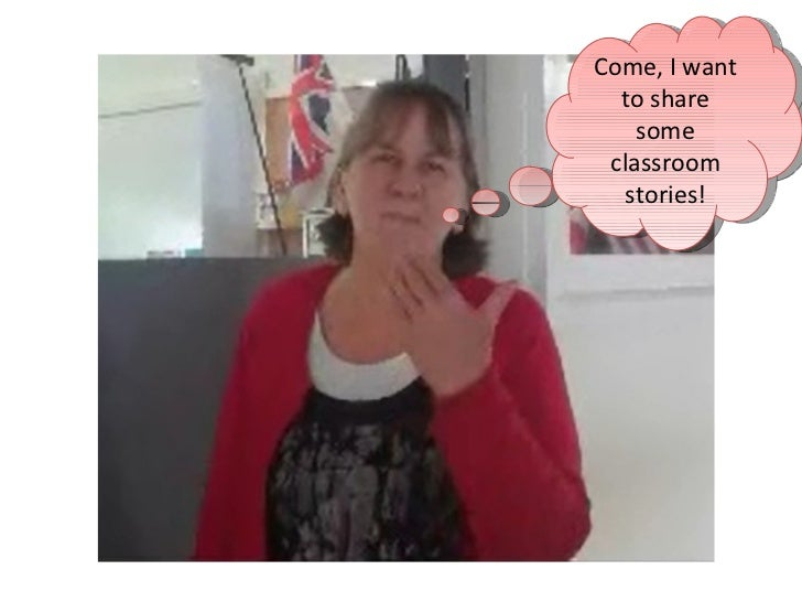 Come, I want to share some classroom stories!