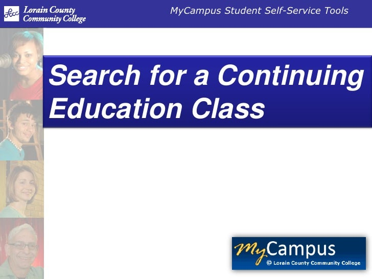 Search for a Continuing Education Class<br />