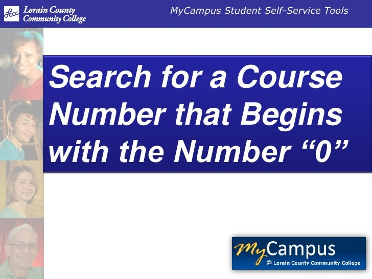 """Search for a Course Number that Begins with the Number """"0""""<br />"""