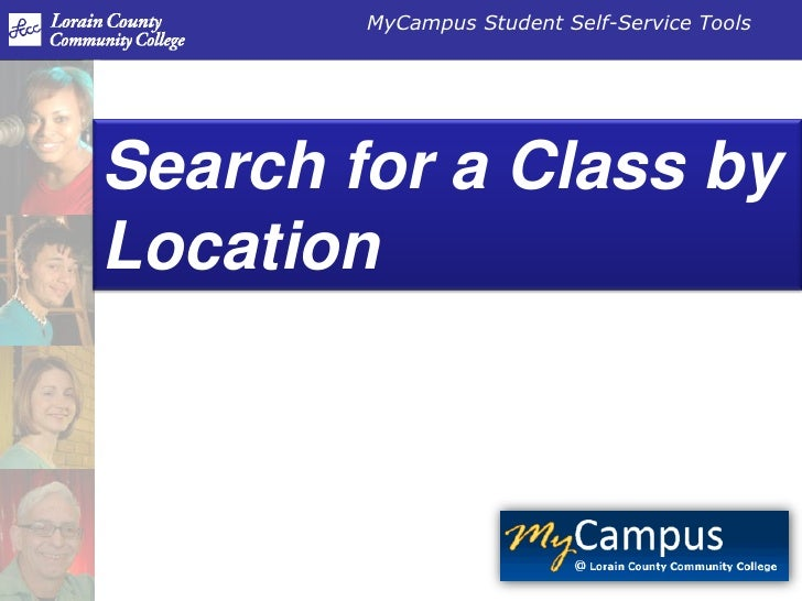 Search for a Class by Location<br />