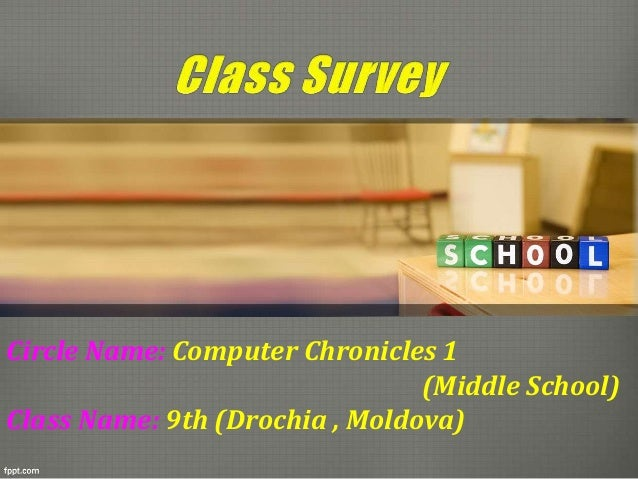 Circle Name: Соmputer Chronicles 1 (Middle School) Class Name: 9th (Drochia , Moldova)