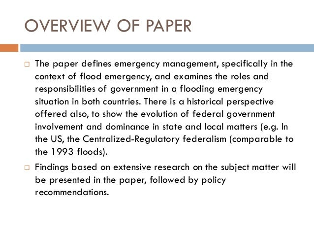 disaster management essay writing