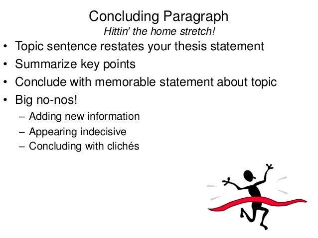 Proper structure of an essay