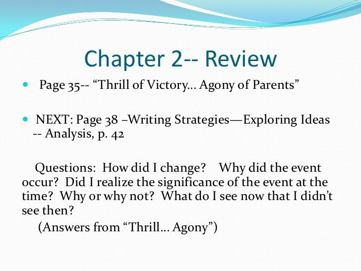 Part Two, Chapters 10-13