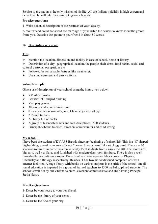 Class X English Communicative Study Material