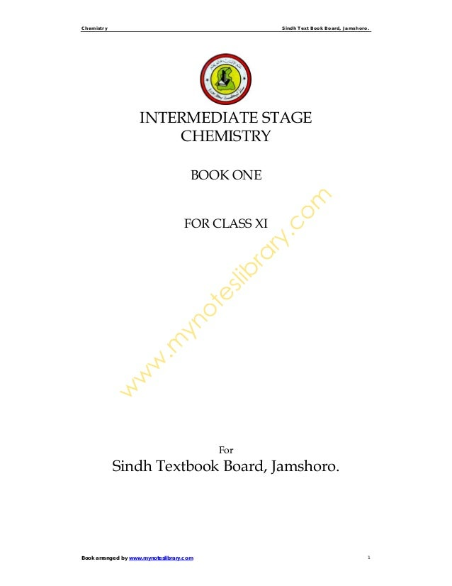 Class xi chemisty_book_notes