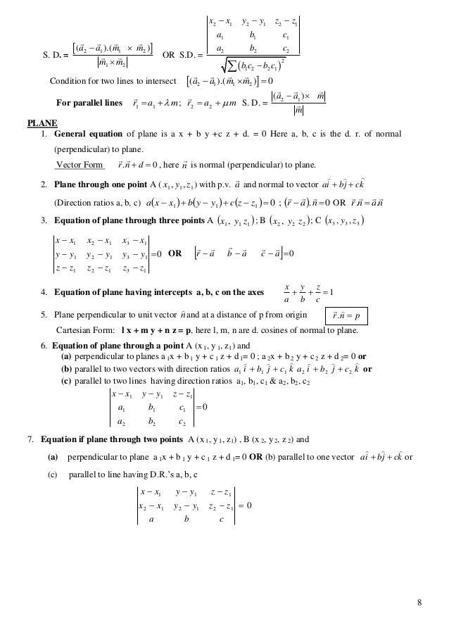 engineering mathematics formulas pdf free download