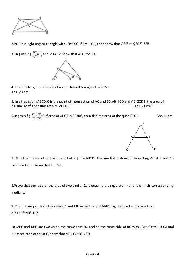 Class x mathematics study material 22 2 ccuart Choice Image