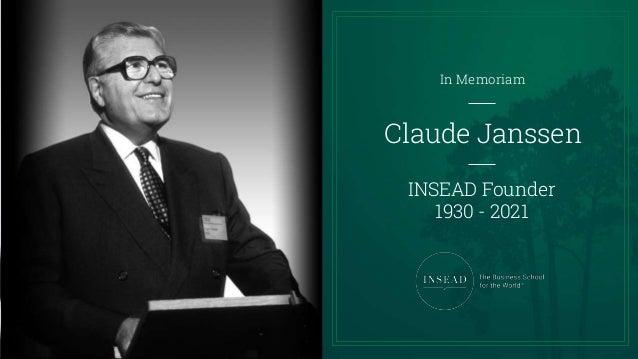 Claude Janssen In Memoriam Slideshow Slide 2