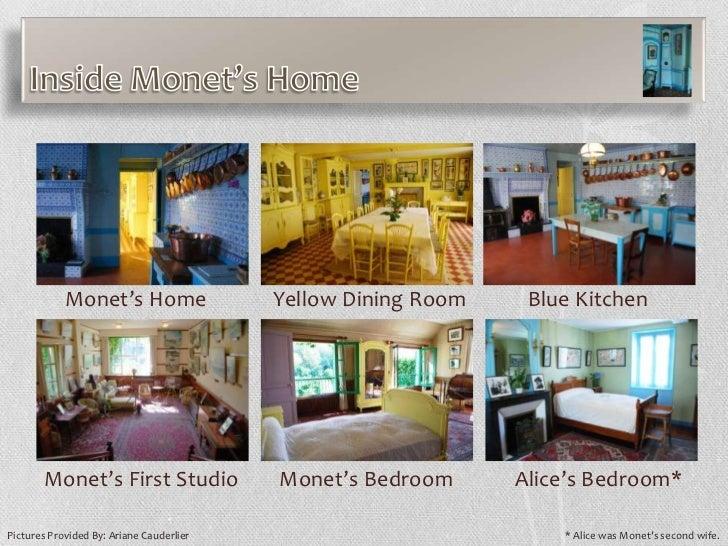 Monetu0027s Home Yellow Dining Room ...