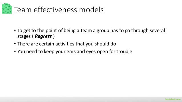 Guide: Understand team effectiveness brainforit.com rework.withgoogle.com