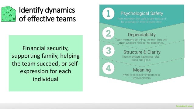 brainforit.com T7 Model Task Thrust Trust Talent Teaming execute successfully common purpose in each other collective skil...