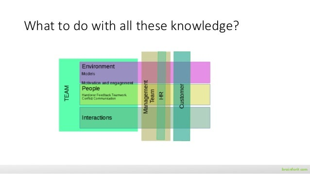 What to do with all these knowledge? brainforit.com