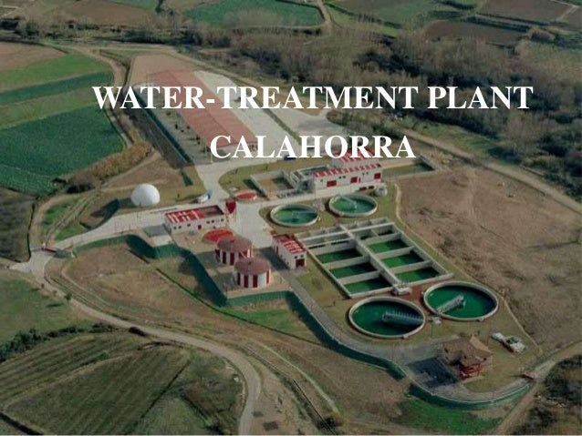 WATER-TREATMENT PLANT CALAHORRA