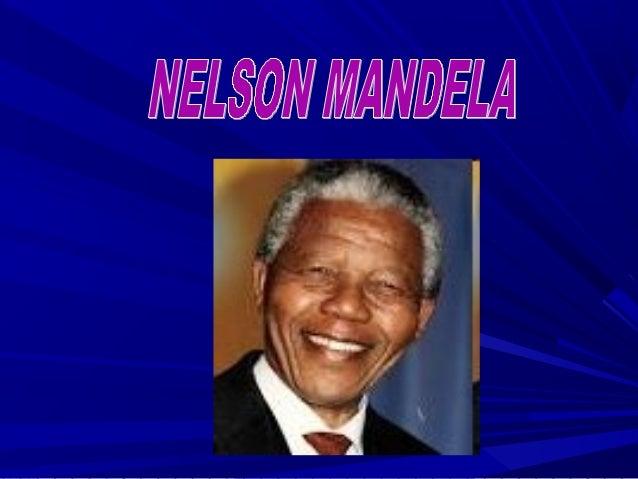 Nelson Mandela naceu o 18 de xullo de 1918 en Sudáfrica e morreu o 5 de decembro do 2013 aos 95 anos.