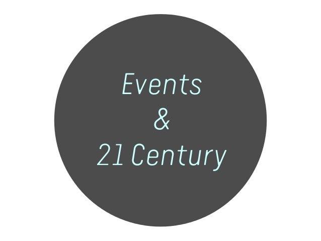 Events & 21 Century