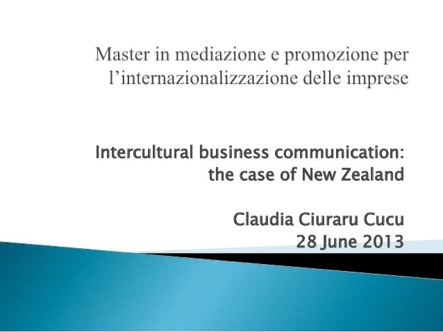 intercultural communicatio Course description and objectives this course provides the basis for understanding potential problems of intercultural communication that arise in interactions between people from different.