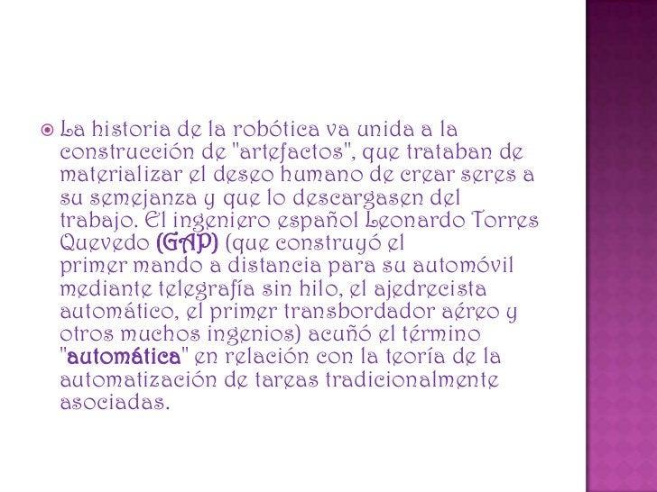 """ Karel Čapek, un escritor checo, acuñó en 1921 el término """"Robot"""" en su obra dramática Rossums Universal Robots / R.U.R.,..."""