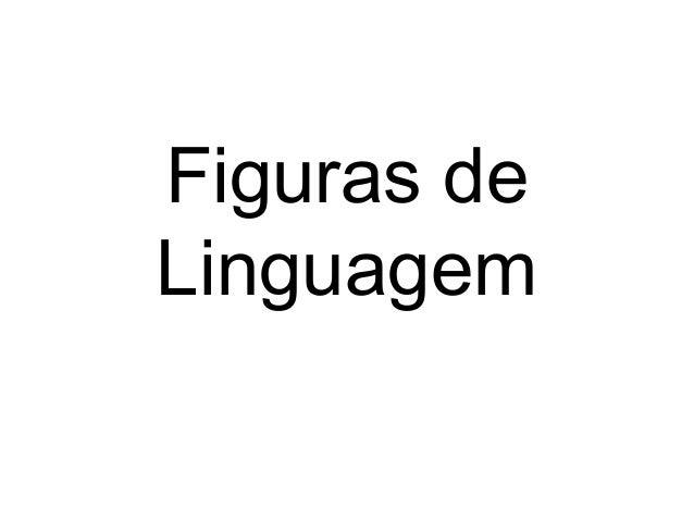Figuras deLinguagem