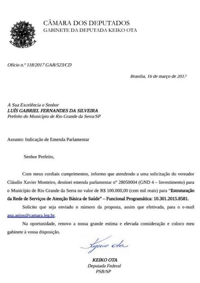 Vereador Claudinho Monteiro conquista emenda para a saúde de Rio Grande da Serra