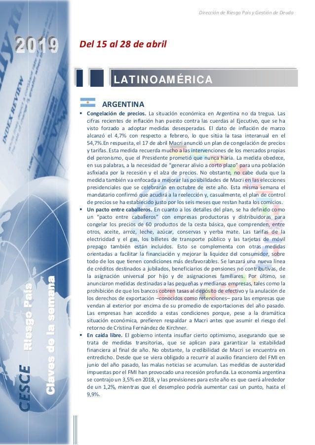 RiesgoPaís  Clavesdelasemana RiesgoPaís D          Del15a  ARG Congelación cifrasrecien visto forzad alcanz...