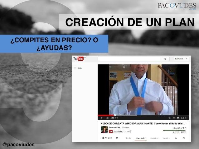 9¿COMPITES EN PRECIO? O¿AYUDAS?!CREACIÓN DE UN PLAN!@pacoviudes!