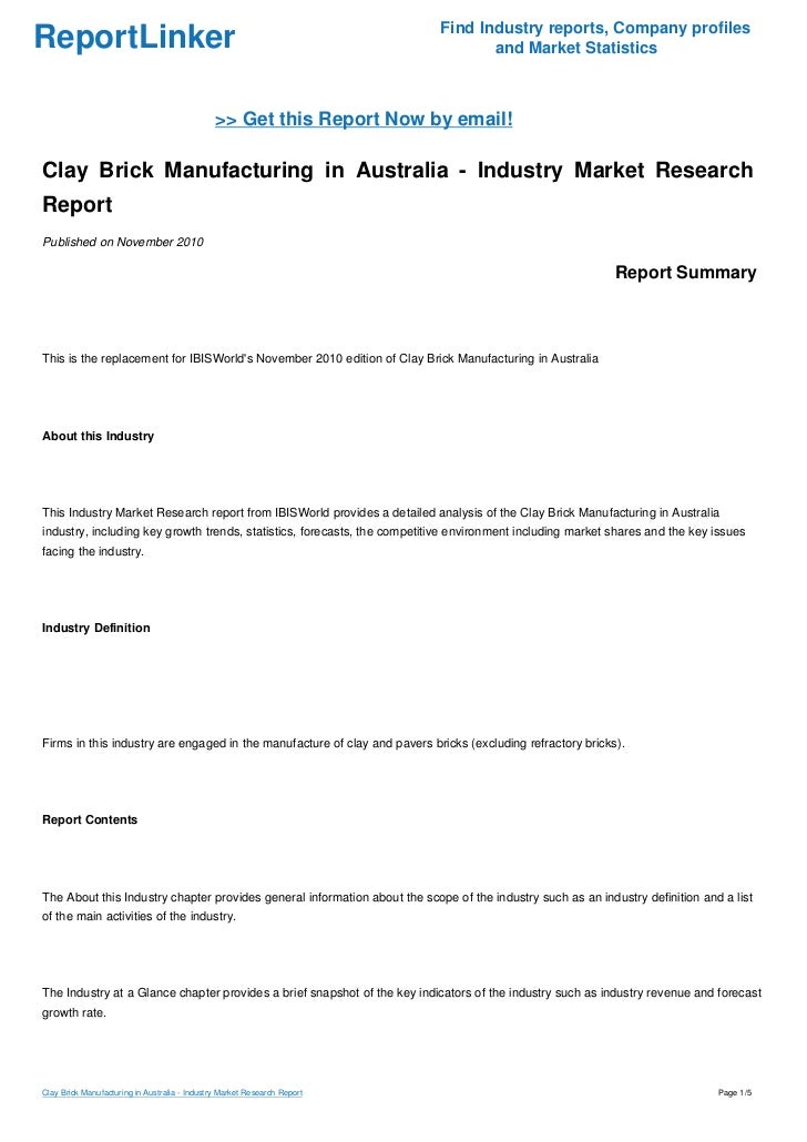 australian hardware industry marketing analysis This is a summary from publication main features which contains key figures, key points and notes from the publication.