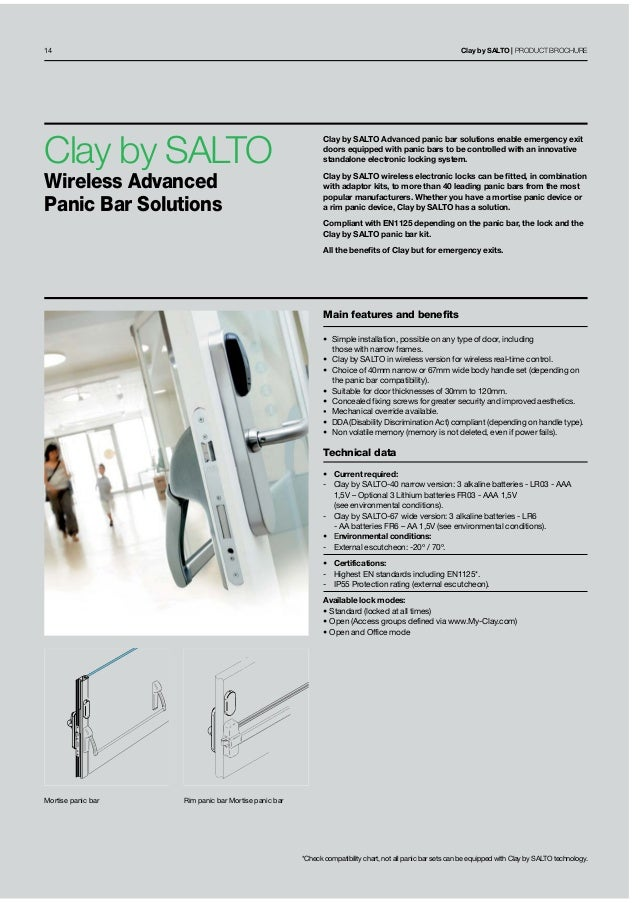 Clay Salto Online Cloud Base Wireless Lock System