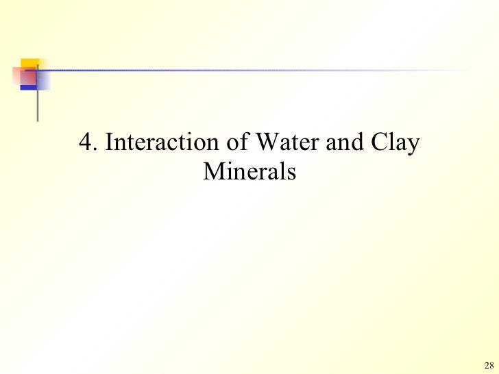 structure of clay minerals pdf