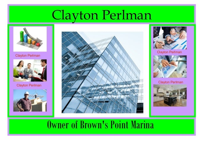 Clayton Perlman Owner of Brown's Point Marina Clayton Perlman Clayton Perlman Clayton Perlman Clayton Perlman