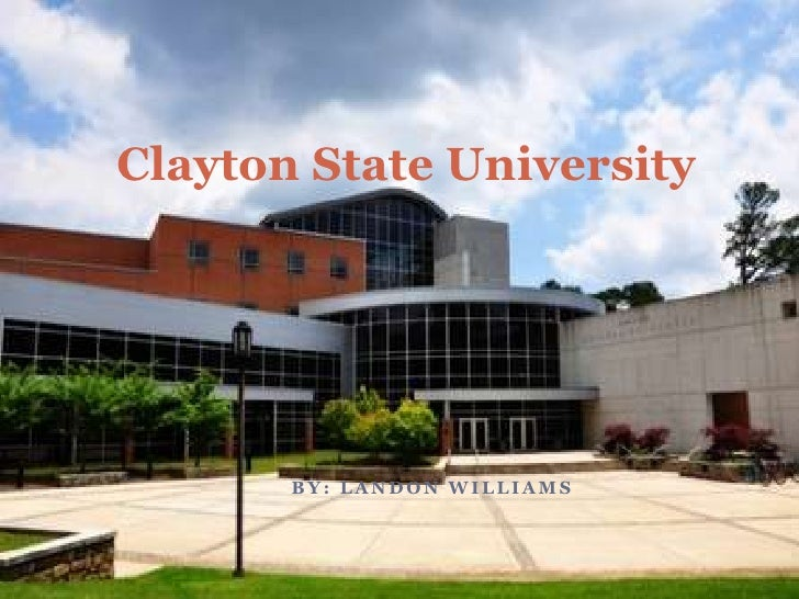 clayton state university essay Or university (as verified by official transcript) essay of purpose and graduate  school interest three (3) professional references listed with contact information.