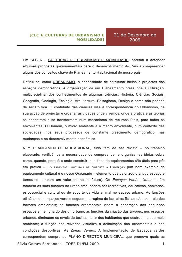 [CLC_6_CULTURAS DE URBANISMO E                        21 de Dezembro de                          MOBILIDADE]              ...