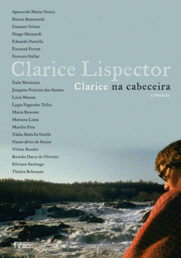 Clarice Na Cabeceira Cronicas