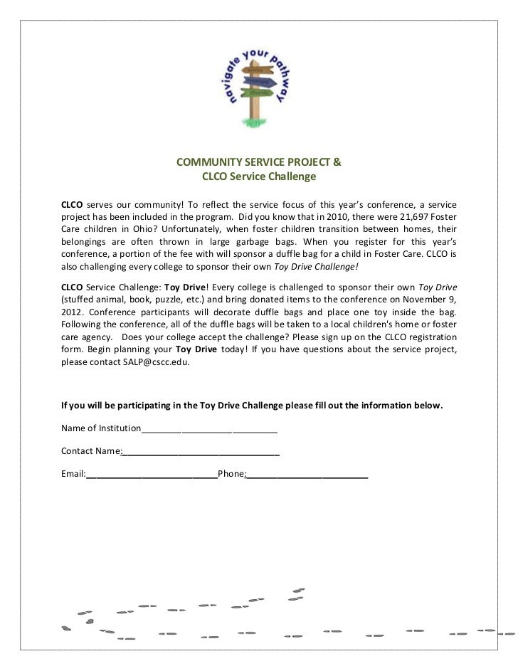 Collegiate Leadership Conference Registration Form