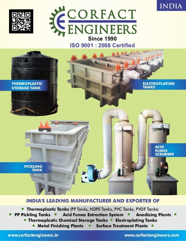 www.corfactengineers.in www.corfactengineers.com INDIA'S LEADING MANUFACTURER AND EXPORTER OF COR FA C TCOR FA C TCOR FA C...