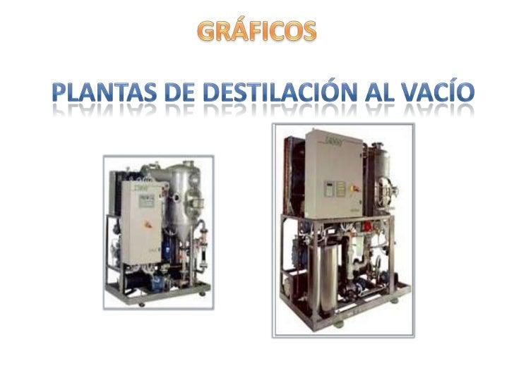 En la unidad           • Gas Oil Ligero de           de vacío se             vacío (GOL).          obtienen tres          ...