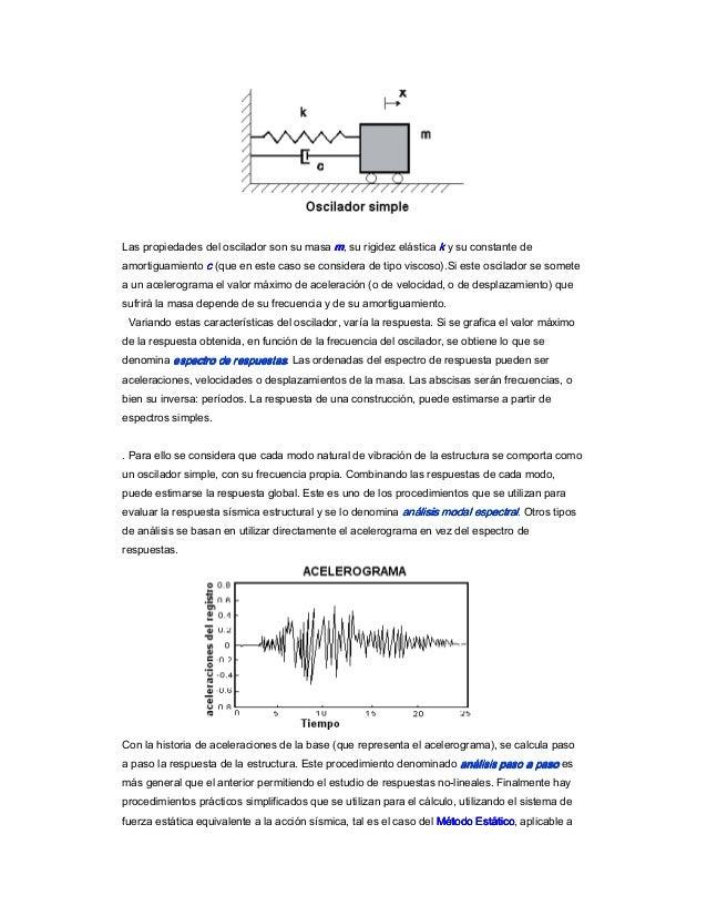 Cálculo sísmico de edificios