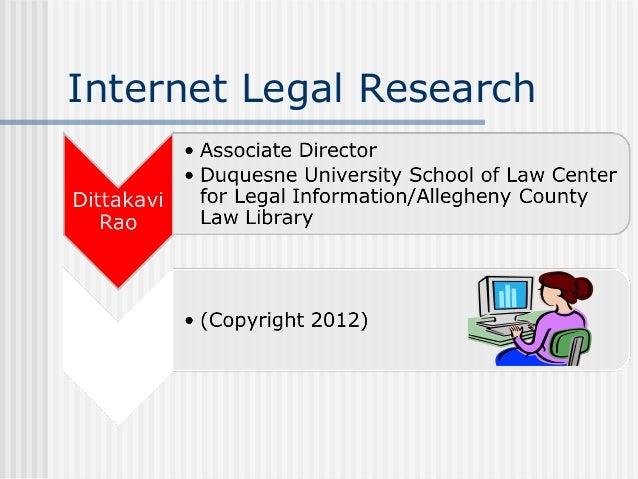 Internet Legal Research