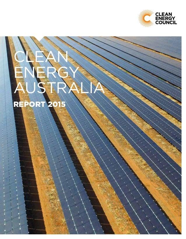 Clean energy australia report clean energy australia report 2015 malvernweather Choice Image