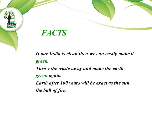 essay on india green city clean city The just city essays were produced  79 a city that is blue, green and just all  over  conversely, an environment with clean air and clean water can be   energy pilot project in rakjot (india) the framework for uniting municipalities.