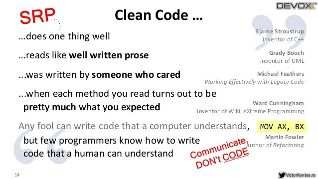 Clean Code - The Next Chapter