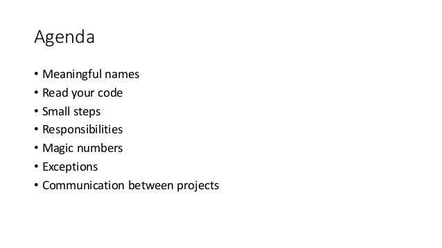 Clean codefull Slide 3