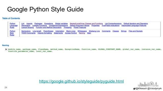 Clean Code in Jupyter notebook