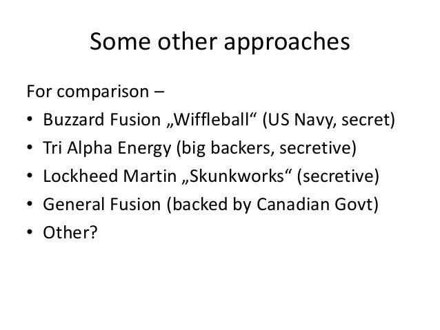 Clean fusion power Australia Presentation