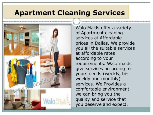 Great Apartment Cleaning Services ...