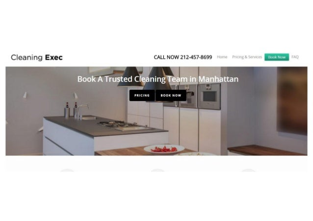 Cleaning Exec - Manhattan