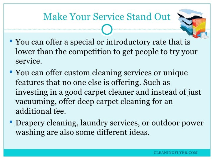 starting carpet cleaning business plan