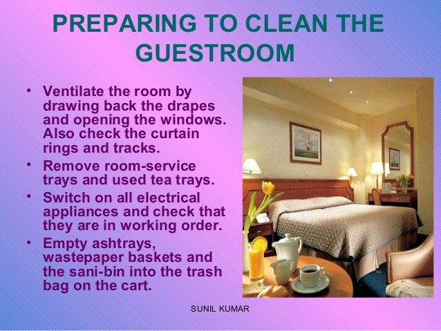 Cleaning Guestrooms