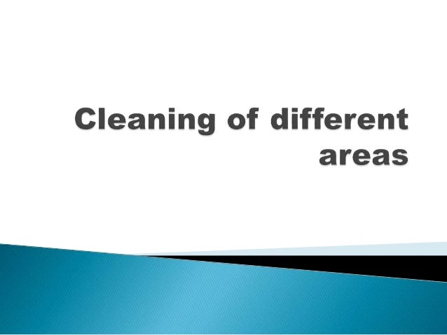 1) Hygiene :  Hygiene is very much important in every cleaning procedure  It guarantees safety from bacteria, micro orga...